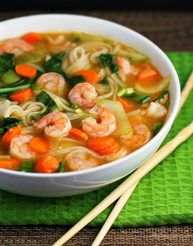 Boiled shrimp with Fish Soup - 3