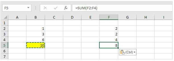 hasil paste formulas