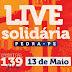 Prefeitura da Pedra confirma mais três atrações da Live Solidária
