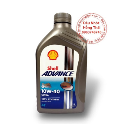 Dầu nhớt Shell Advance Ultra 4T 10W40