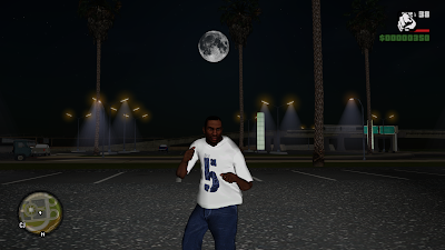 GTA San Andreas New Features ENB MOD
