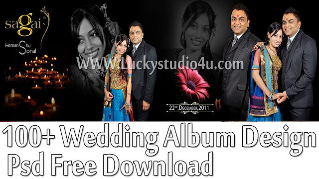 100+ Wedding Album Design