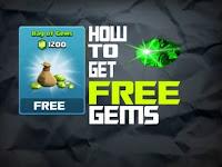 Trik Aman Dapatkan 1200 Gems COC Gratis Terbukti Work!