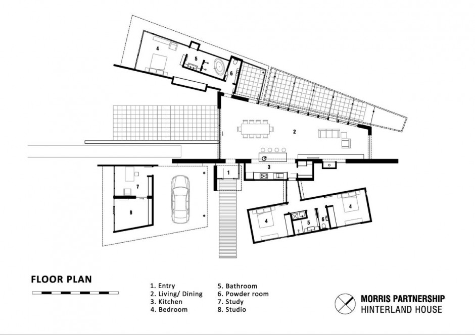 Hinterland House : By Morris Partnership ~ HouseVariety