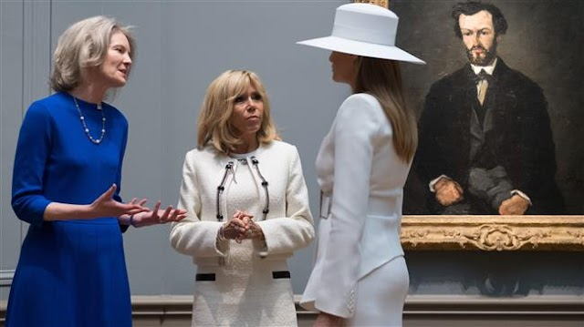 Melania Trump virtually held prisoner at the White House by US Secret Service, Brigitte Macron's suggests