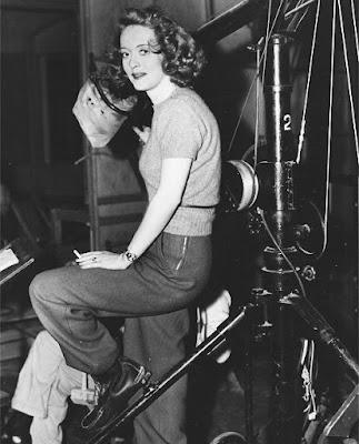 Bette Davis detrás de las cámaras