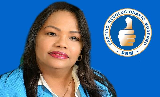 Servia Iris candidata a diputada del PRM llama a unidad opositora  contra conspiración para impedir elecciones en el exterior