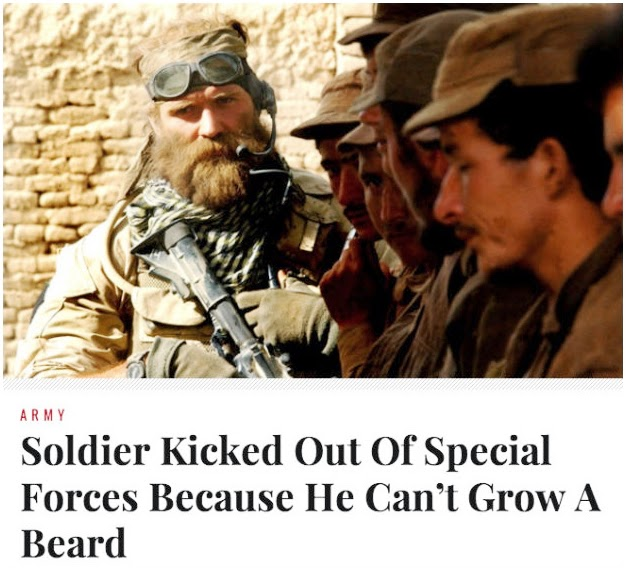Special Forces Beards Navyseals