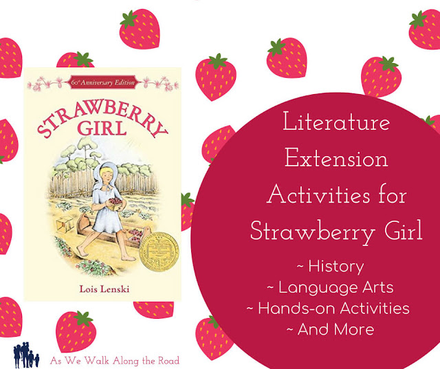 Literature unit study for Strawberry Girl