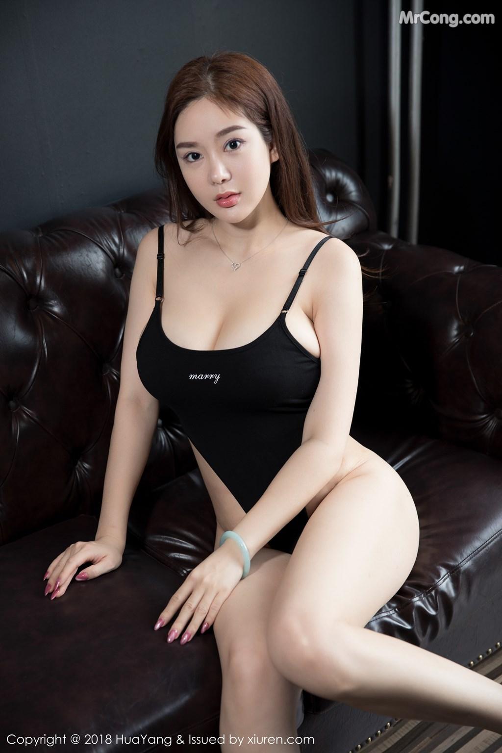 Image HuaYang-2018-08-09-Vol.068-Silvia-MrCong.com-014 in post HuaYang 2018-08-09 Vol.068: Người mẫu 易阳Silvia (41 ảnh)