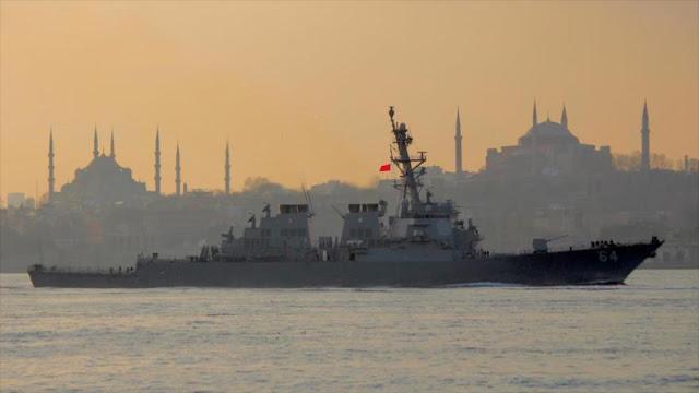 EEUU prueba sistemas de guerra electrónica en el mar Negro