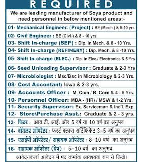 Jobs Vacancy For ITI, Diploma, Any Graduate Candidates In Vippy Industries Ltd Dewas, Madhya Pradesh