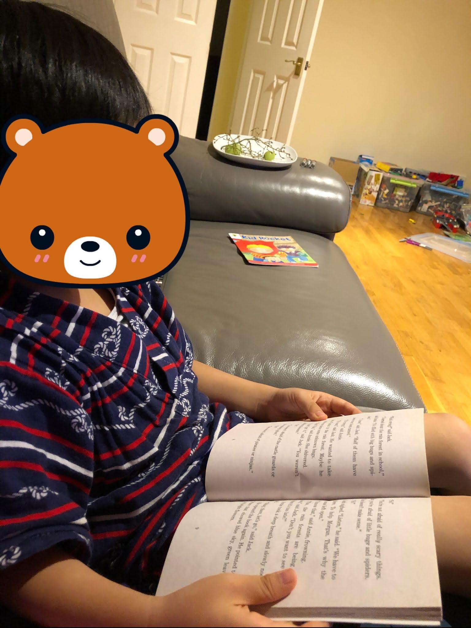 JC in UK: 弟弟的英文學習之路