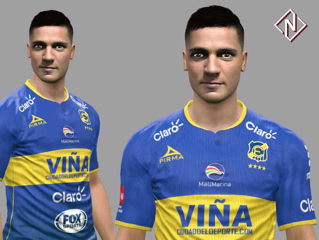 PES 2017 Fernando Arismendi Face by Nahue