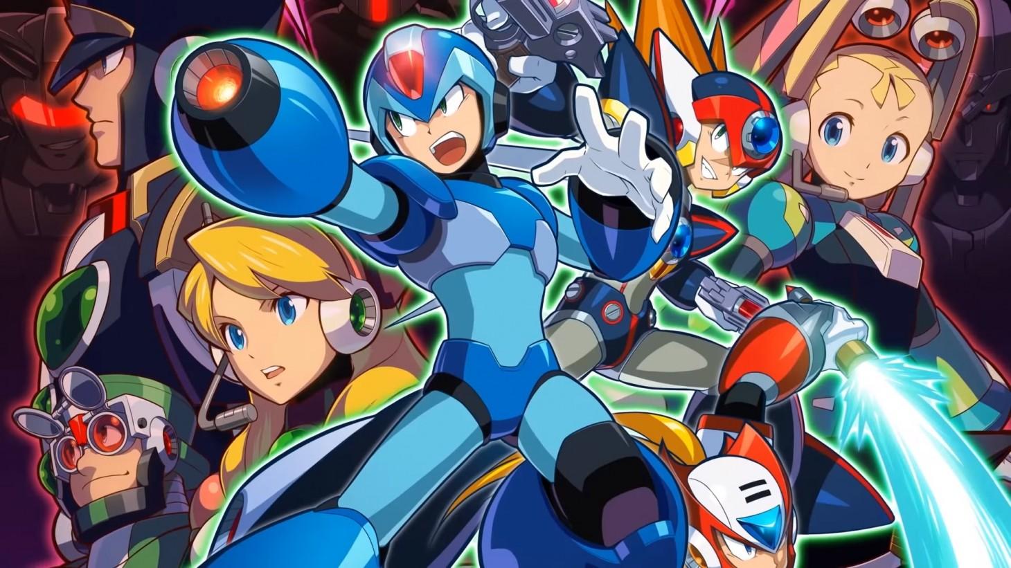 Rockman Corner Mega Man X Legacy Collection 1 2 Review Nintendo Switch
