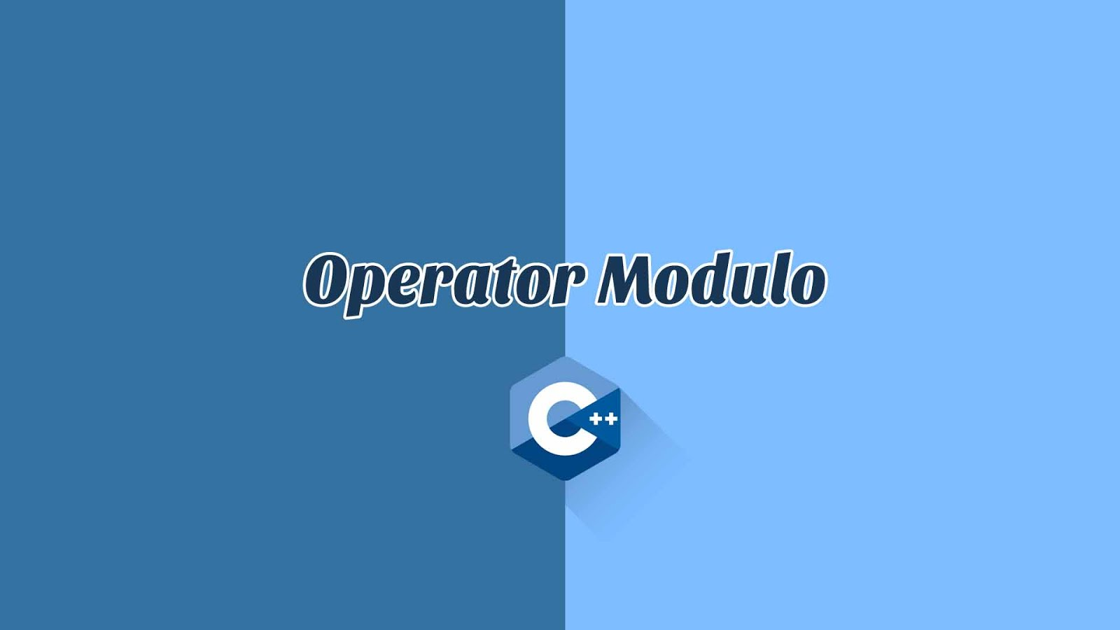 Operator Modulo ( % ) di C++