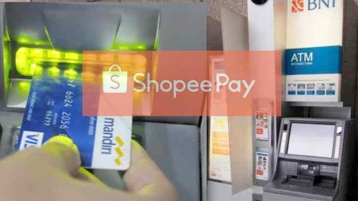 Cara Mengisi Saldo ShopeePay Via Transfer BNI dan Mandiri