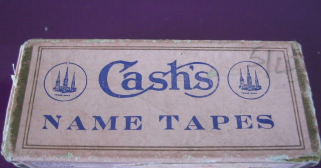 Cash/'s 36 Woven Name tapes