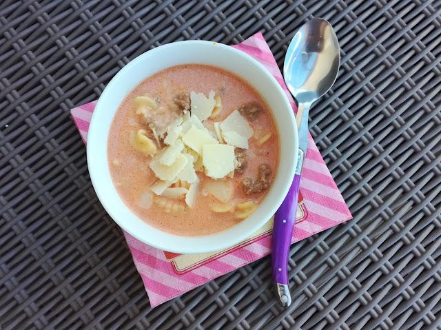 Recette Lasagna Soup