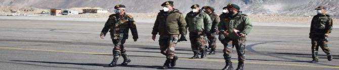 Indian Army Chief Visits Ladakh And Siachen To Review Operational Preparedness