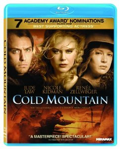 Popcultureguy Blu Ray Spotlight Cold Mountain 2003 Starring Nicole Kidman And Jude Law