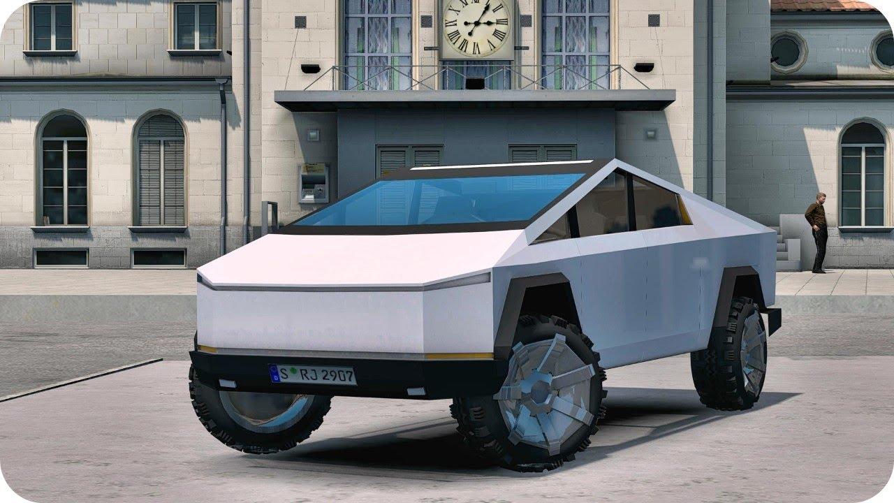 Euro Truck Simulator 2 Tesla CyberTruck