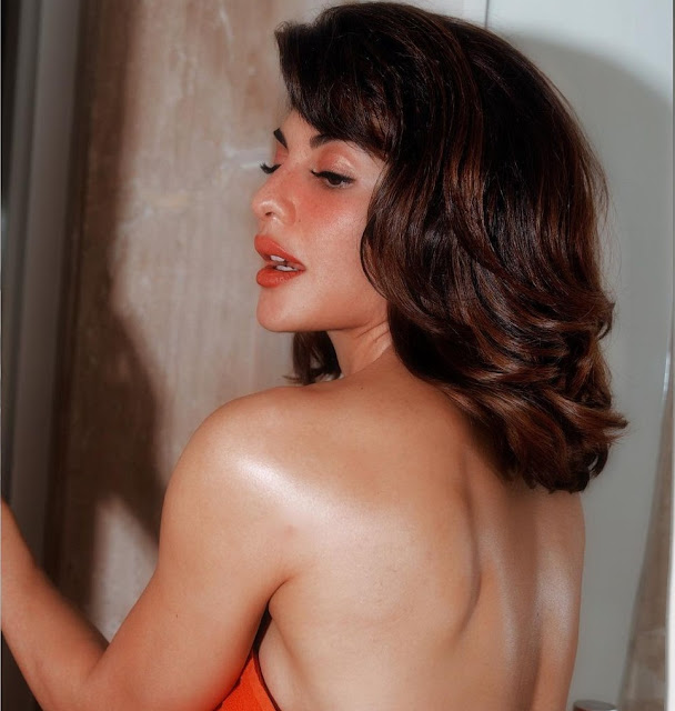 Jacqueline Fernandez goes backless in latest pictures