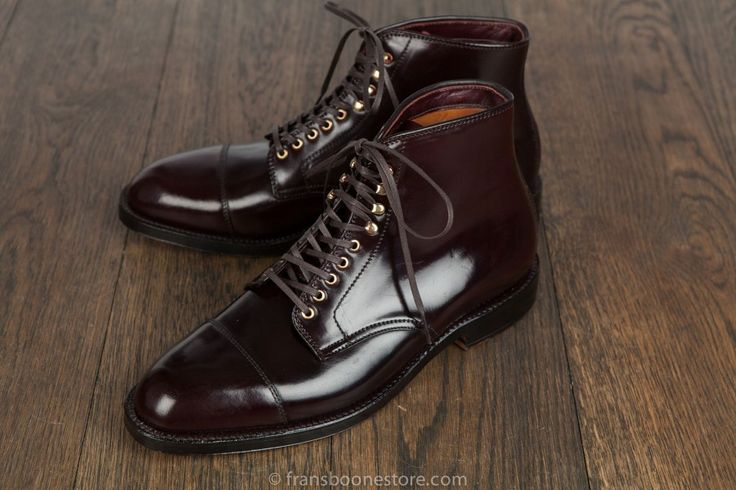 Alden Parajumper boot in Shell Cordovan #8 (Frans Boone Store)