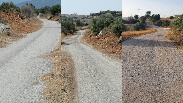 Δήμαρχος Ερμιονίδας: Η φροντίδα και η ασφάλεια του δημοτικού οδικού δικτύου αποτελεί βασικό μας μέλημα