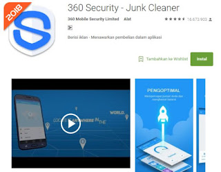 Aplikasi Anti Virus Android 360 Security Paling Ampuh Mengatasi Malware