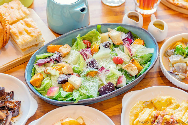 MG 8224 - 熱血採訪│台中清新森林系餐廳,多國人氣蔬食料理好美味,假日容易客滿建議先訂位