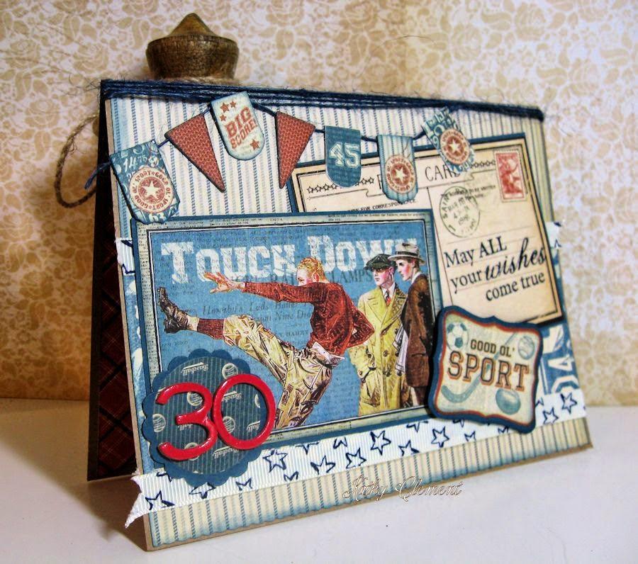 Good Old Sport Masculine Birthday Card - Kathy by Design