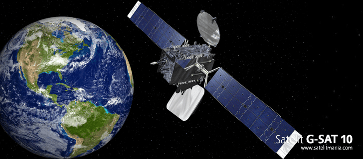 Daftar Lengkap Frekuensi Satelit G-Sat 10