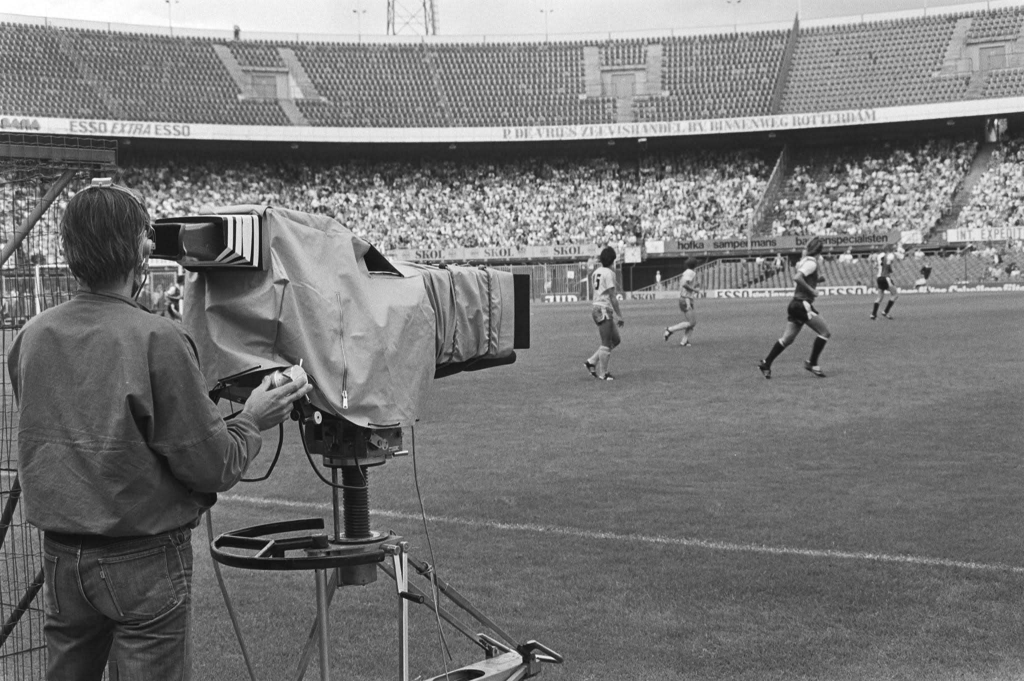 Een camera van Studio Sport