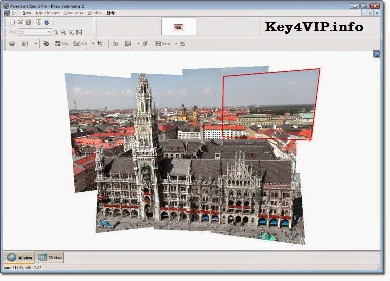 PanoramaStudio Pro 2.6.1 x86 x64 2.6.0 Full Key,Phần mềm Tạo các bức ảnh toàn cảnh với góc nhìn rộng 360 độ