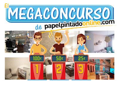 el mega concurso de papel pintado online