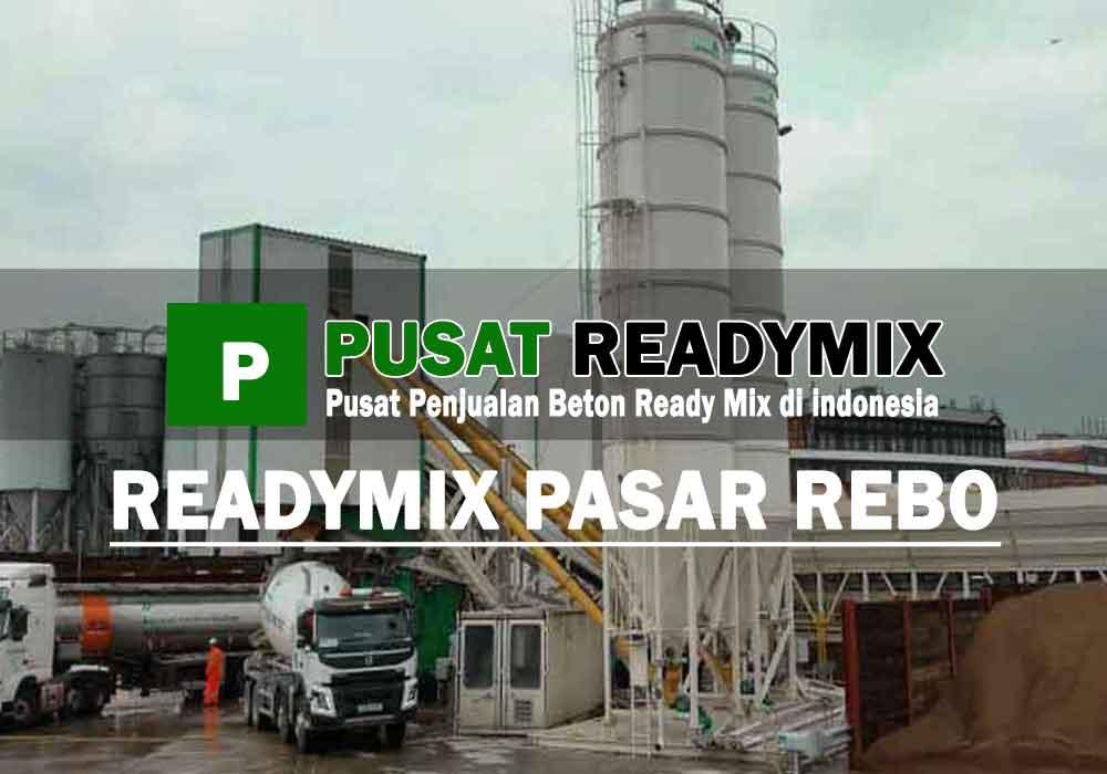 harga beton ready mix Pasar Rebo