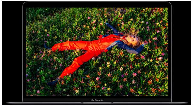 MacBook Air شاشة