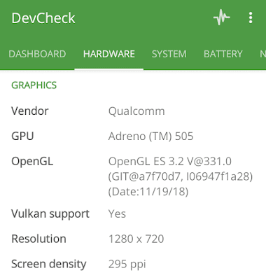 Cara Cek Vulkan Support di Android - DevCheck