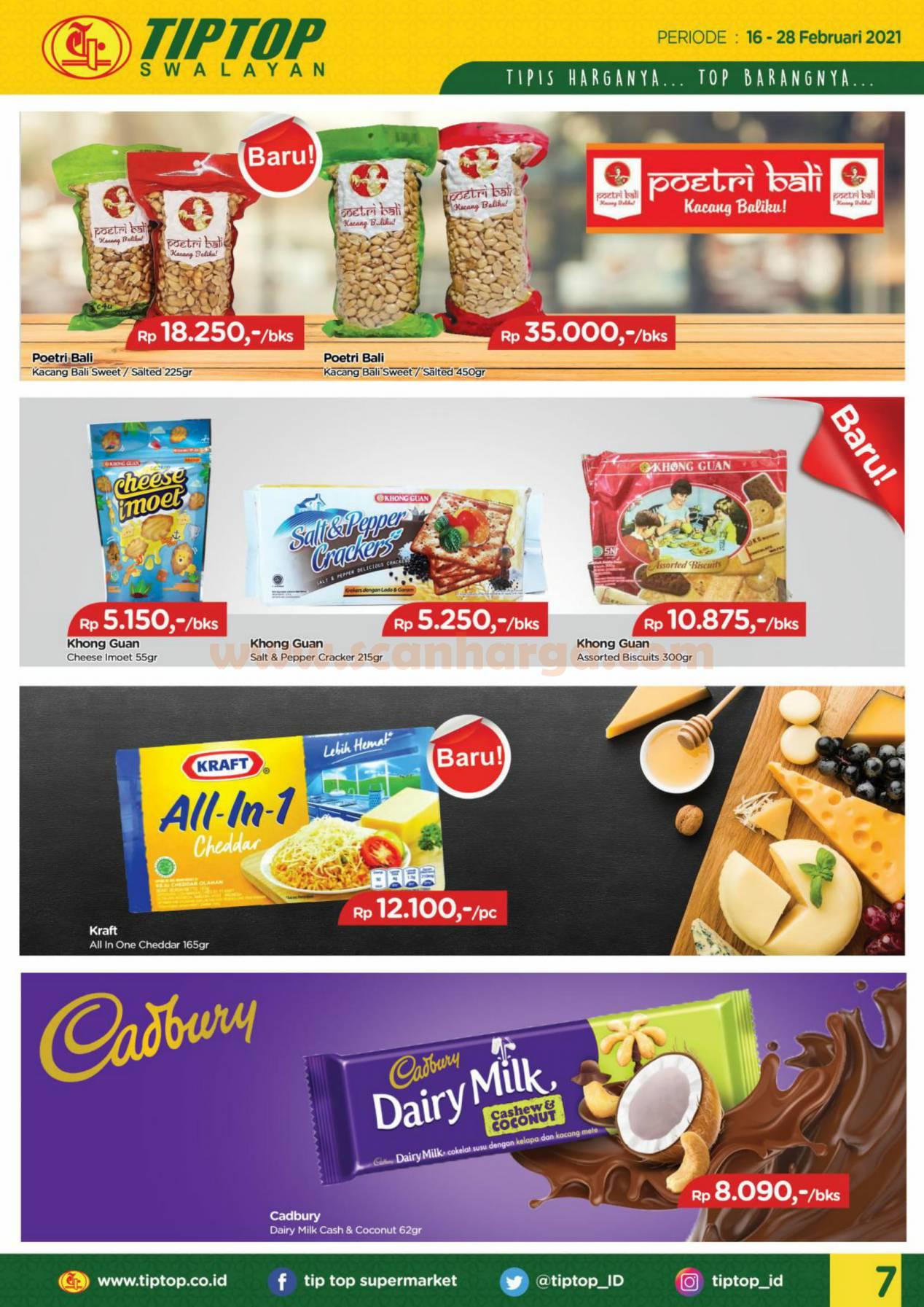 Katalog Promo Tip Top Pasar Swalayan 16 - 28 Februari 2021 7