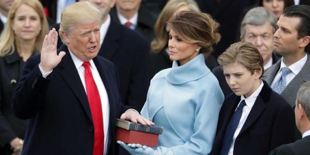 Donald Trump Resmi Menjadi Presiden Ke-45 AS