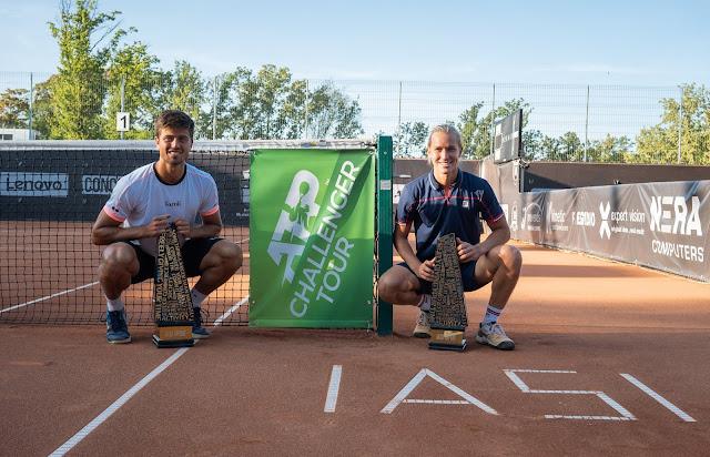 João Menezes Rafael Matos Tênis challenger título romênia