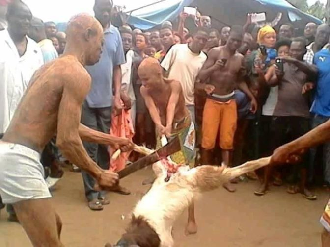 Family Undergo Ritual After Father Is Caught Having Sex With Daughter. Photos