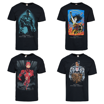 Zack Snyder's Justice League Artist Edition T-Shirt Series by Footaction