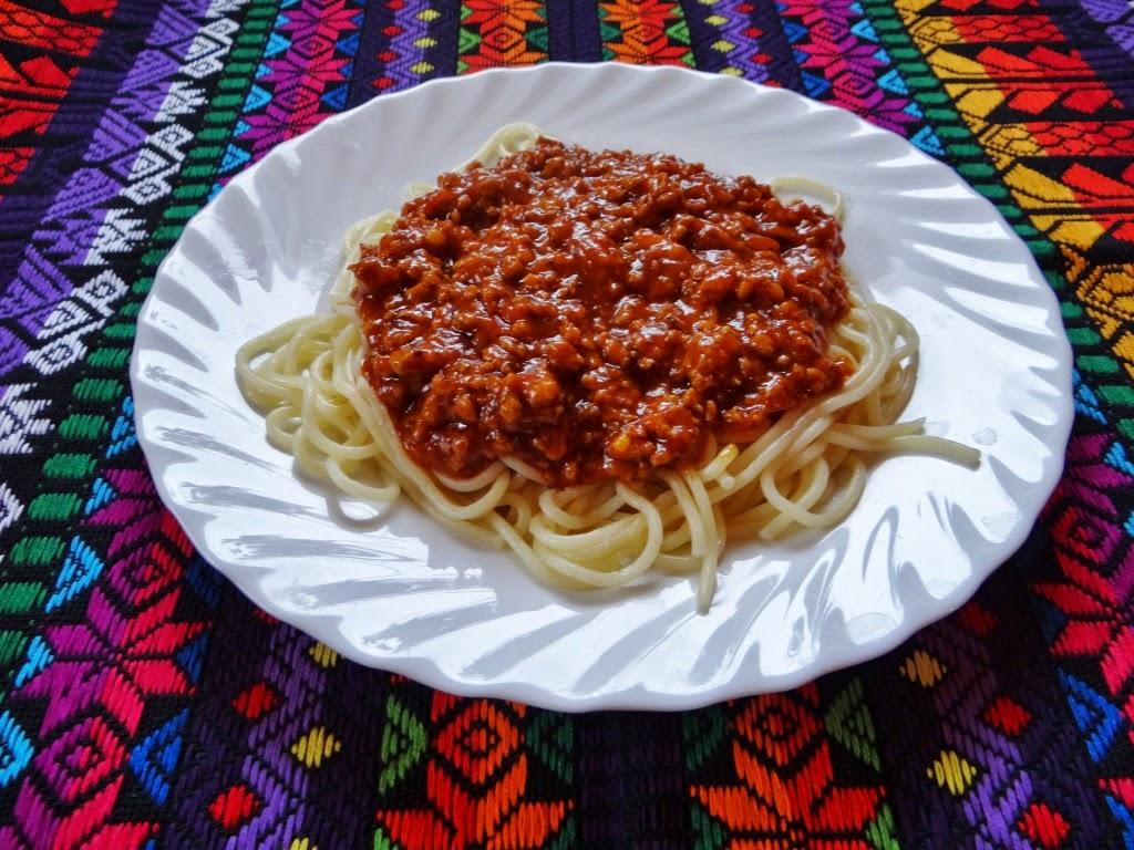 Spaghetti mięsne