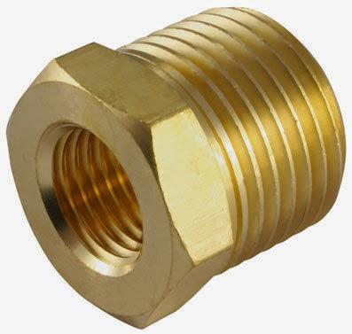 brass bolt & nut
