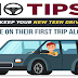 10 Tips to Keep Your New Teen Driver Safe on Their First Trip Alone #infographic