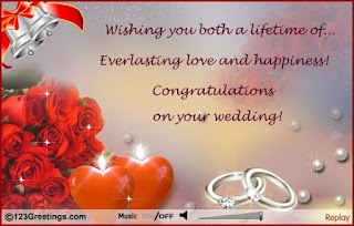 words of congratulations for a wedding couple