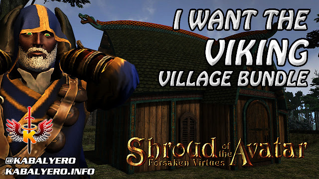 Shroud of the Avatar ❤️ I Want The Viking Village Bundle