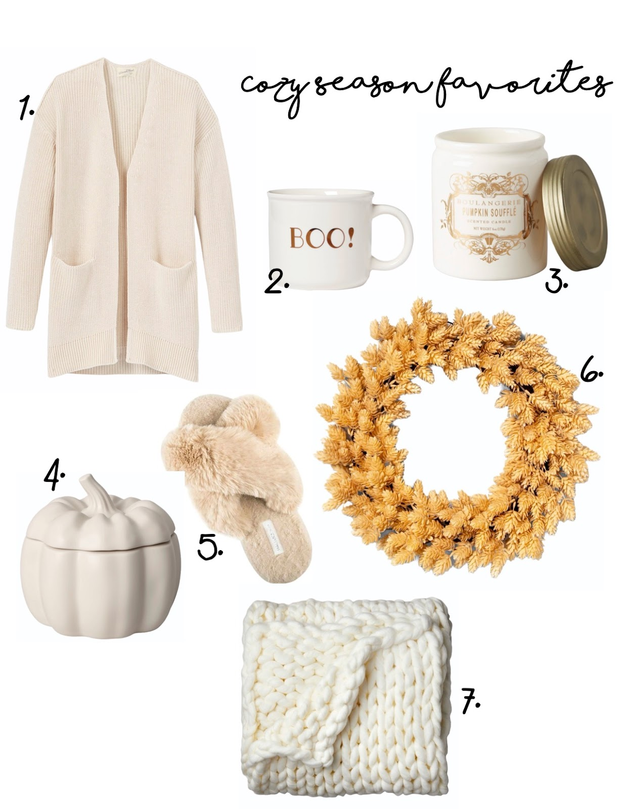 Cozy Season Favorites
